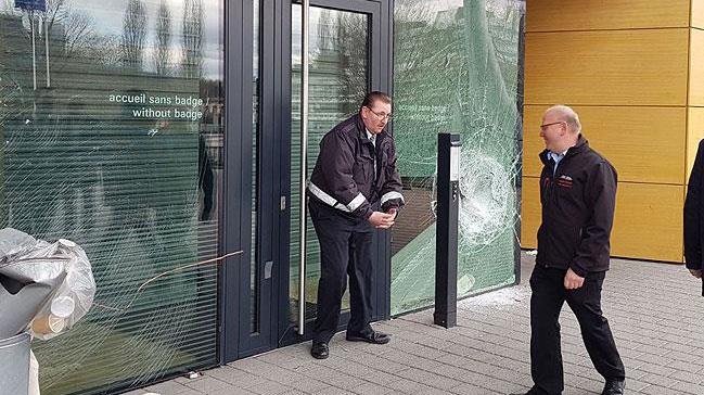 Fransa'da AİHM'e saldıran terör örgütü PKK yandaşı 11 kişiye hapis cezası verildi