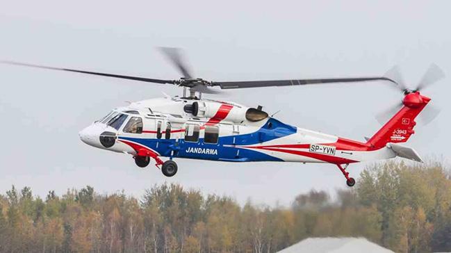 Jandarma Genel Komutanlığı envanterine iki adet genel maksat helikopteri katıldı