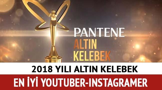 Altın Kelebek'te en iyi Youtuber açıklandı