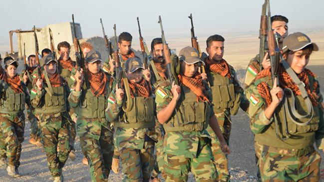 Suriyeli Peşmergelerin terör örgütü PKK/YPG'nin yerini alacağı iddiası