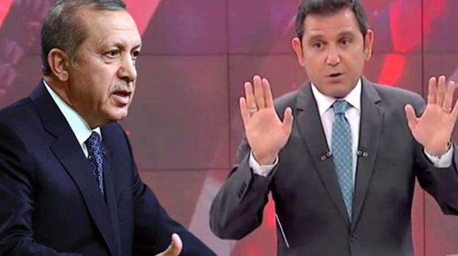 Başkan Erdoğan'dan Fatih Portakal'a: Bilmezsen haddini bu millet patlatır enseni