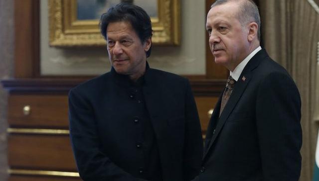 Başkan Erdoğan, Han ile bir araya geldi