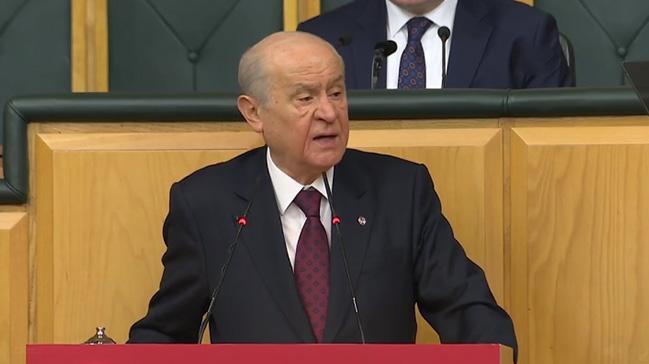 MHP Genel Başkanı Bahçeli: Herkes ayağını denk alsın