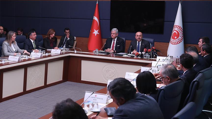 Bakan Çavuşoğlu: Ayrılmaları kolay olmuyor