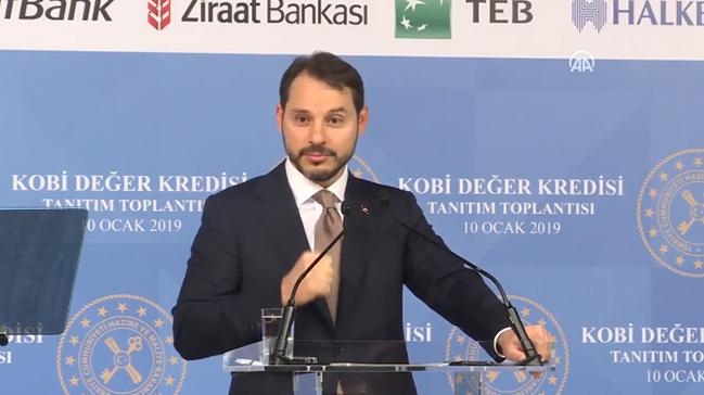 Bakan Berat Albayrak yeni kredi paketini açıkladı