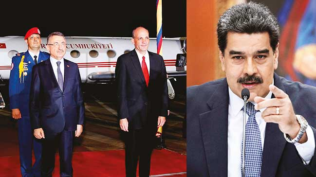 Yemin eden Maduro'yaAnkara'dan destek