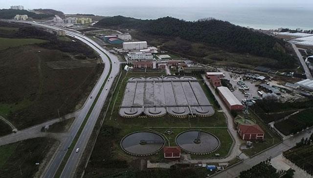 Yalova'da atık suları temizleyen havuzun üzerine kurulacak tesis dünyanın en büyüğü olacak