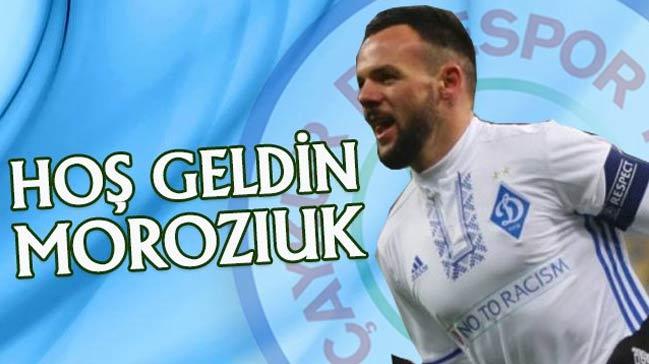 Çaykur Rizespor, Mykola Moroziuk ve Nakoulma ile sezon sonuna kadar anlaştı