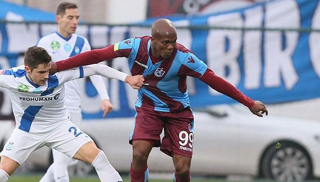 Trabzonspor MTK Budapeşte'ye teslim oldu! 0-2
