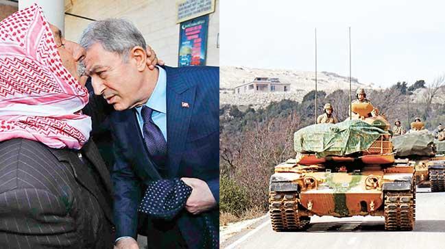 'Kürtlerle kardeşiz tek hedefimiz teröristler'