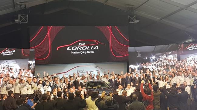 Yeni Toyota Corolla Hibrit banttan indirildi
