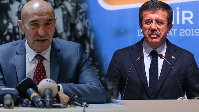 CHP İzmir Büyükşehir Belediye Başkan Adayı Tunç Soyer, Nihat Zeybekci'yi taklit etti