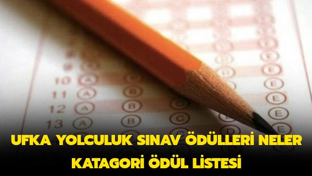 """2019 Ufka yolculuk sınav soruları A-B-C-D-E kategori ödülleri neler"""""""