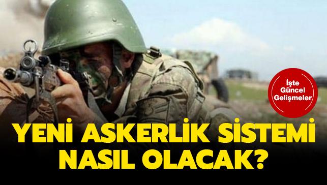Başkan Erdoğan'dan askerlik sistemi açıklaması