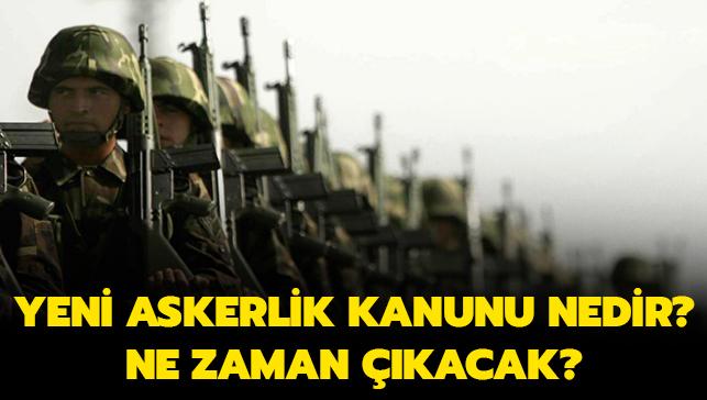 """Yeni askerlik kanunu nedir"""" Ne zaman çıkacak"""" Başkan Erdoğan açıkladı!"""