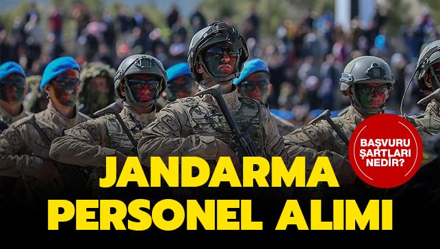 "Jandarma uzman erbaş alımı başvuru şartları! Jandarma uzman erbaş alımı ne zaman"""