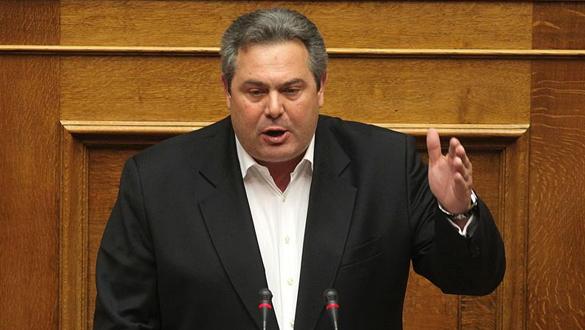 Yunanistan'ın eski Savunma Bakanı Kammenos, Üsküp'ü tehdit etti: 20 dakikalık işi var