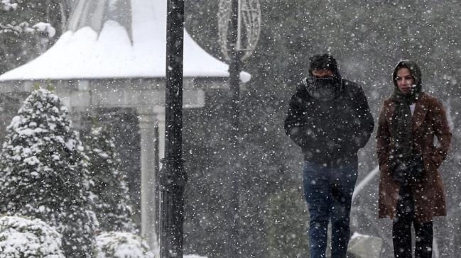 Meteoroloji İstanbul için kar uyarısında bulundu