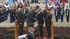 Son dakika - Bakan Akar ve Orgeneral Güler ABD'de askeri törenle karşılandı