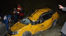 Son dakika - Sahile uçan taksinin sürücüsü hayatını kaybetti