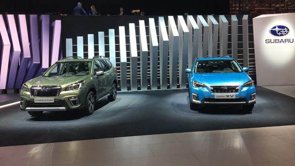 Subaru yeni hibrit otomobillerini tanıttı