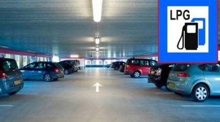 Kapalı otoparklara kabul edilmeyen LPG'li araçların kabulü için çalışmalar başladı