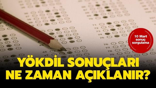 """YÖKDİL sınav sonuçları açıklandı mı"""""""