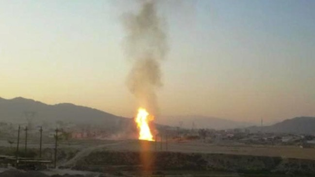 İran'da doğal gaz boru hattında meydana gelen patlama sonucu 5 kişi öldü