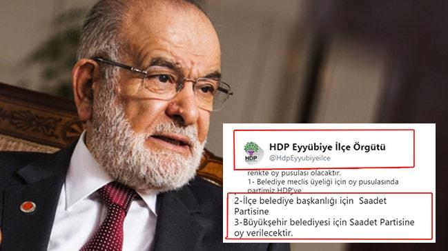 Terör destekçisi HDP'nin SP ile kirli ittifakı ortaya çıktı