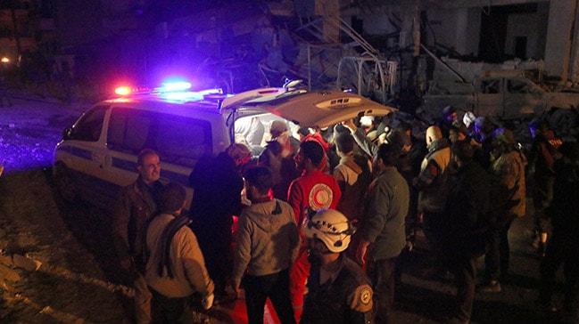 İdlib'de yaralanan 5 sivil tedavi için Hatay'a getirildi