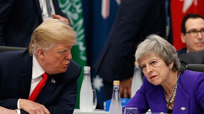 ABD Başkanı Trump, son Brexit oylamasına ilişkin açıklama: May'e fikir vermiştim, bu tavsiyeyi dinlemedi