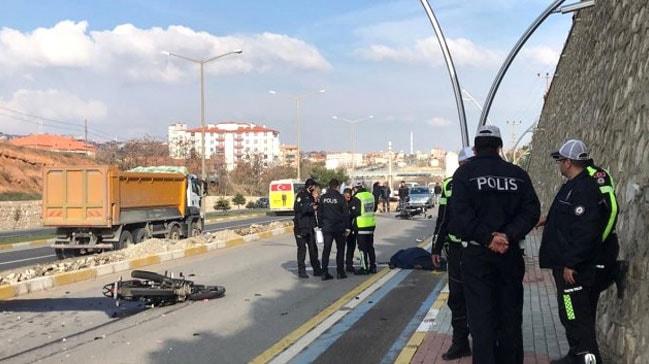 Uşak'ta görevli gittiği kazada ölen oğlu çıktı