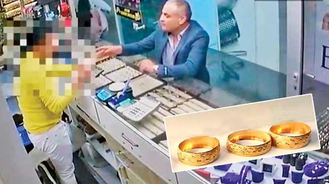 Kuyumculara altın fiyatınabakır sattılar