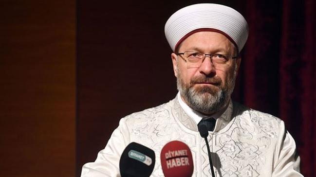 Diyanet İşleri Başkanı Erbaş: Yanlış din anlayışının insanı getirdiği duruma bakın