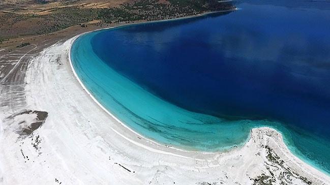Salda Gölü ve Karaburun-Ildır Körfezi Özel Çevre Koruma Bölgesi ilan edildi