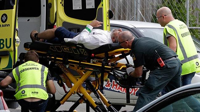 AB: Yeni Zelanda'daki terör saldırılarında hayatını kaybedenlere başsağlığı diliyoruz
