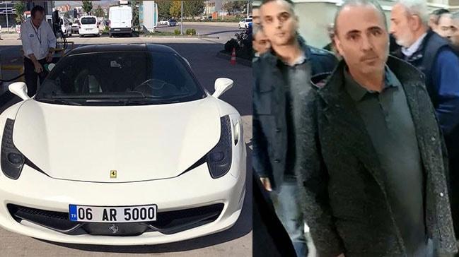 Çarptığı taksinin şoförü ölen Ferrari'nin sahibi teslim oldu