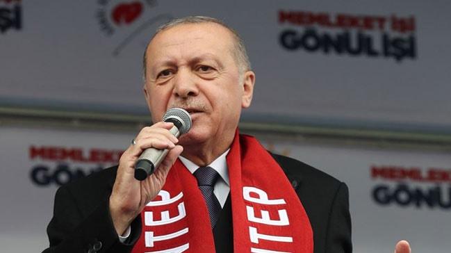 Başkan Erdoğan'dan terörist bildirisine sert sözler