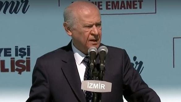 MHP Genel Başkanı Bahçeli: Ey Haçlılar biz buradayız gelinde görelim, gelinde sizi kanınızda boğalım