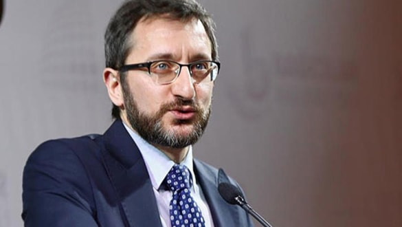 Fahrettin Altun: Ne ölüm tehdidi ne başka bir şey Cumhurbaşkanımızı yolundan çevirir