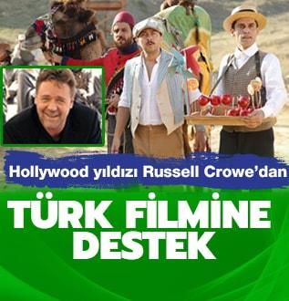 Crowe'dan Türk filmine destek