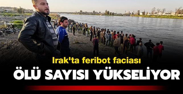 Son dakika... Irak'ta feribot faciası: En az 83 ölü