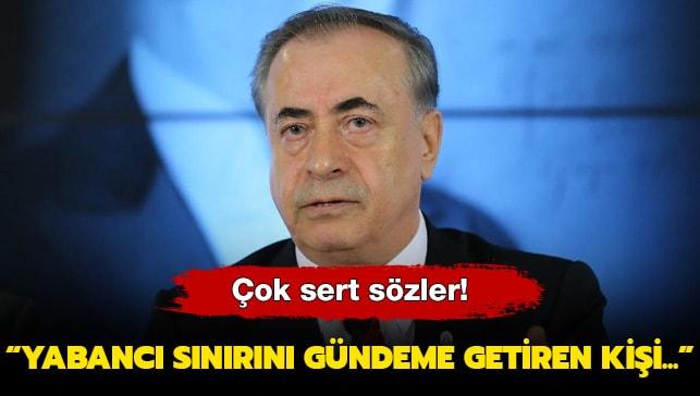 Mustafa Cengiz: Yabancı sınırını gündeme getiren kişi...