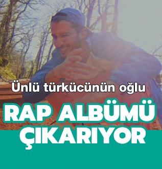 Ünlü türkücünün oğlu Fırat Altunmeşe rap albümü çıkarıyor