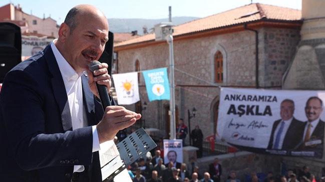 İçişleri Bakanı Soylu: 201 adamı CHP, 27 adamı İP kendi listelerine koydu