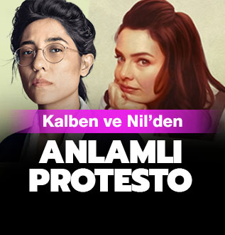Nil Karaibrahimgil ve Kalben'den şiddet protestosu