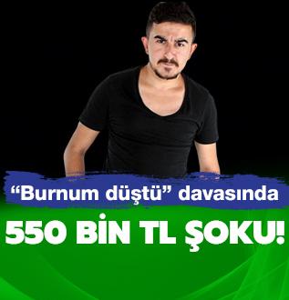 Halil Söyletmez'in 'burnum düştü' davasında flaş gelişme!