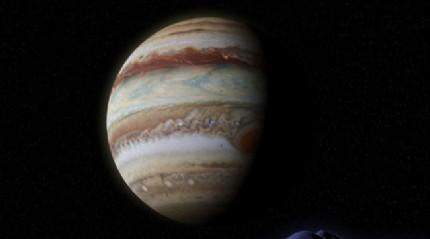 Jüpiter'in ilk oluştuğunda Güneş'e 4 kat daha uzak mesafede olduğu ortaya çıktı