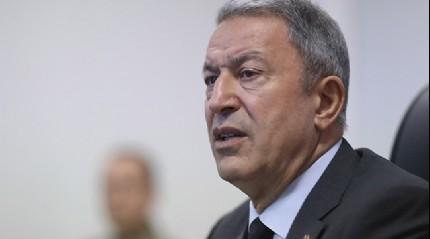 Milli Savunma Bakanı Akar: Kabul etmemiz mümkün değil