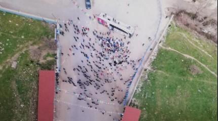 HDP'nin Diyarbakır mitingine vatandaşlar ilgi göstermedi